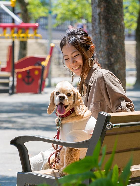 出張撮影ご家族一緒ロングプラン 犬 公園&自宅(東京23区内)